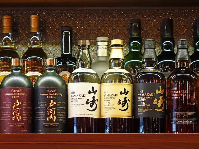 Japonská whisky Yamazaki
