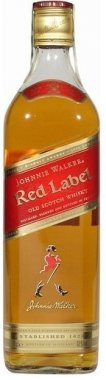 johnnie Walker Red Label lahev whisky