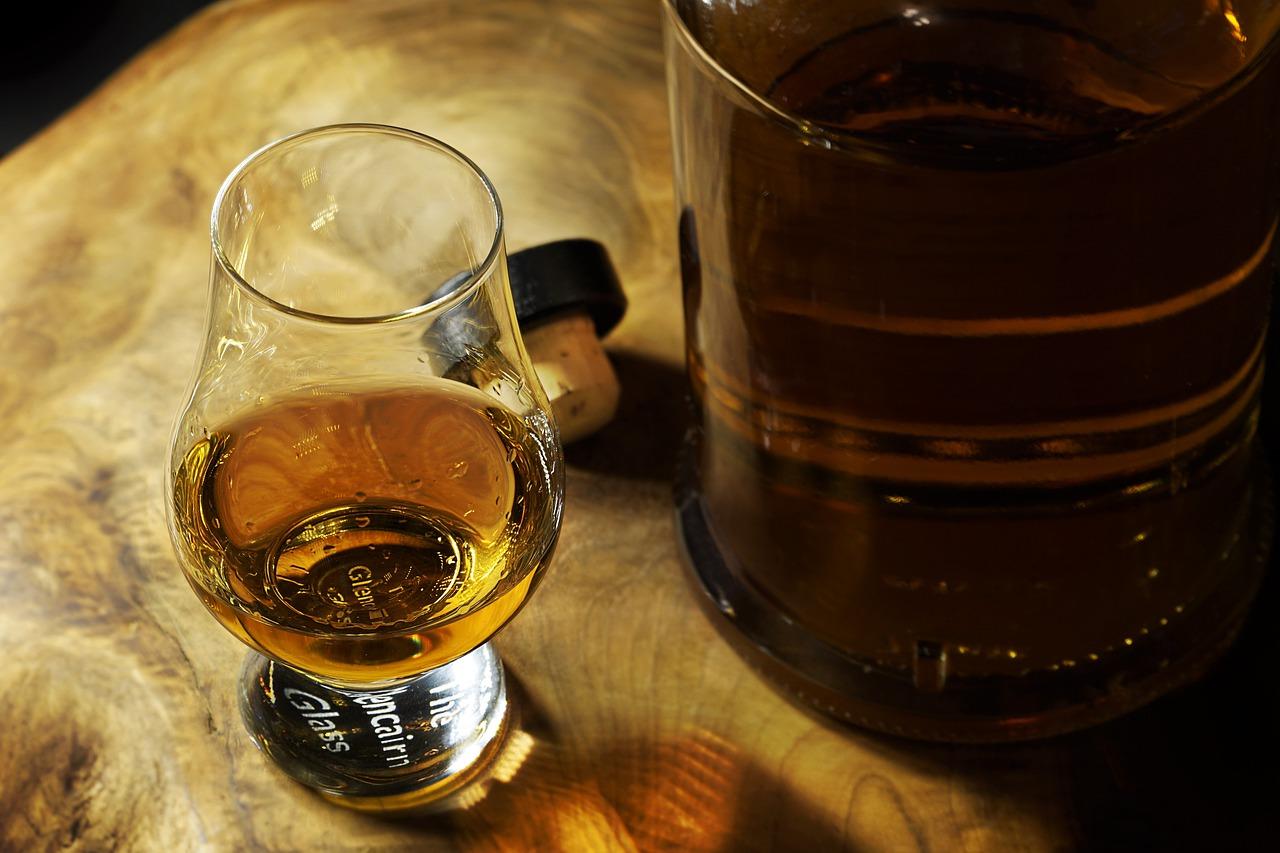 panák whisky