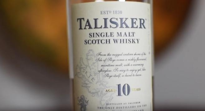 lahev whisky talisker 10
