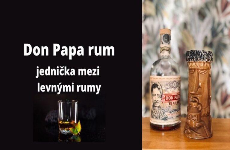 Don Papa 7y je levný sladký rum, který si oblíbíte