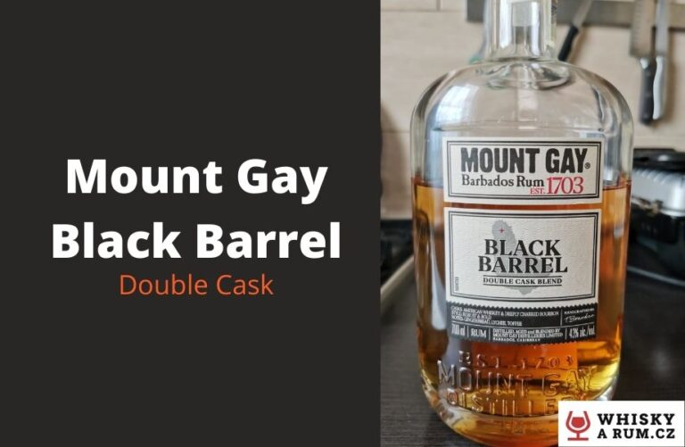 Mount Gay – Black Barrel je dobrý rum s dlouhou tradicí