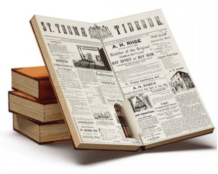 A.H.Riise rumový kalendář