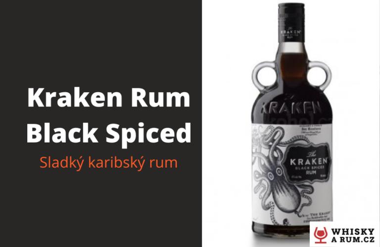 Kraken rum: Black Spiced – kořeněný, sladký rum ve stylovém pirátském kabátě
