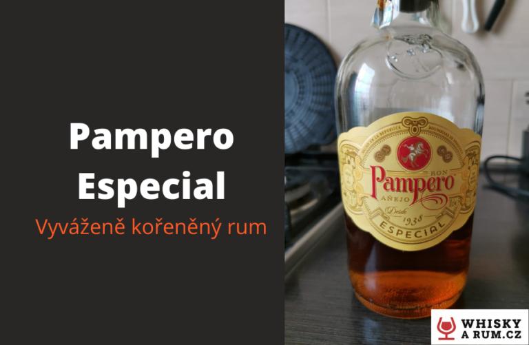 Pampero Especial – příjemný rum, který nepřekvapí, ale rozhodně nezklame