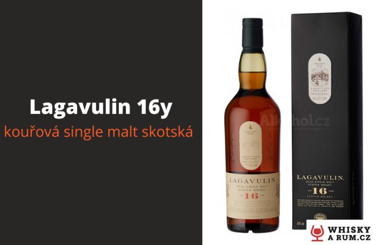 Lagavulin 16y – suchá, kouřová whisky s Islay (recenze)