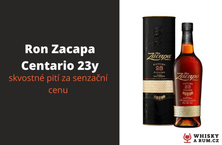 Ron Zacapa Centenario 23y – je levný rum, tak skvostný?